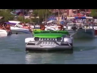 Плавающий джип
