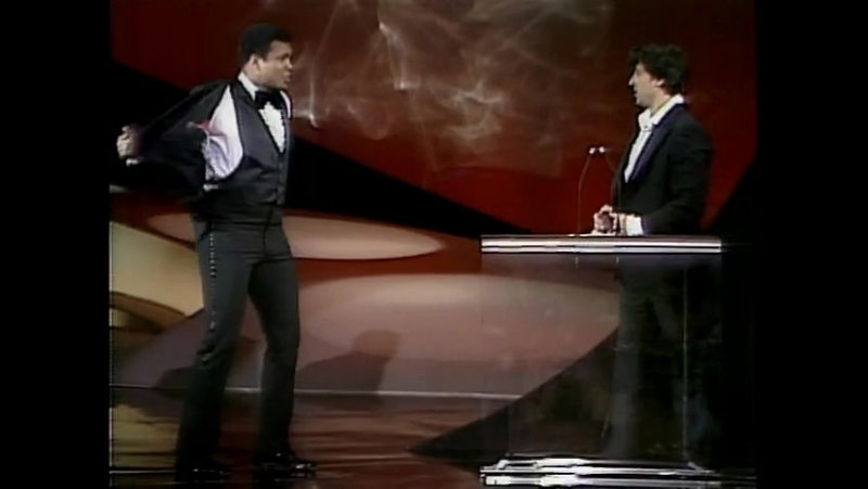 The best show I've seen Muhammed Ali surprises Silvestr Stalone