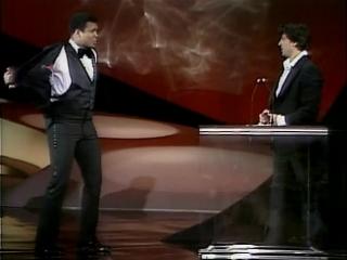 The best show I've seen! Muhammed Ali surprises Silvestr Stalone.