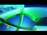 Анонс в титрах, заставка, часы и начало новостей (НТВ HD, 03.01.2016)