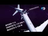 видео монтаж крушения самолёта А321 «Когалымавиа» рейс 7K 9268