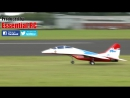 Giant scale rc mikoyan mig 29 2 jet engines lma cosford show 2016