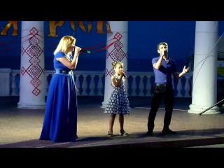 Выступление Марлена Белялова и Ксении Корягиной, День Крещения Руси (28 июля 2016 г.)