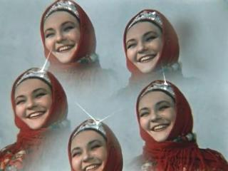 Н. Гоголь. ВЕЧЕРА НА ХУТОРЕ БЛИЗ ДИКАНЬКИ. Ночь перед Рождеством (1961, Александр Роу). Сказка - 640x480