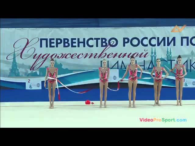 Первенство России 2016 по художественной гимнастике в групповых упражнениях - Сбо...