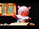 Мультфильмы для детей 2-5 лет - Про Поросенка, Который Умел Играть В Шашки (1972)