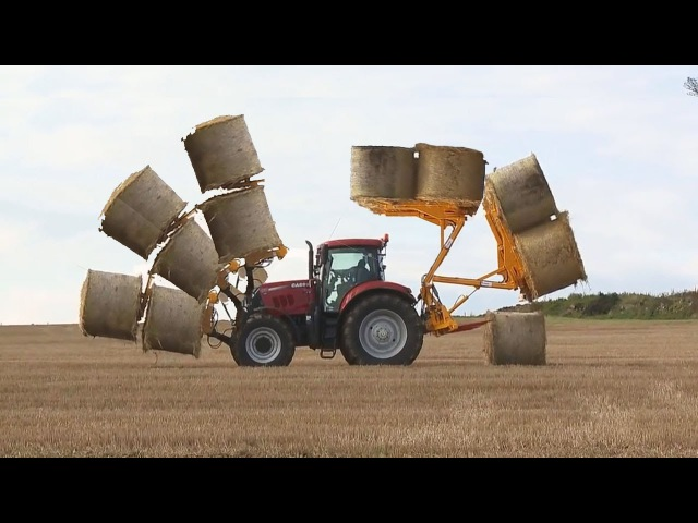 Awesome! Tractor Loader Transformer. Mega Bale Spear and Bale Fork