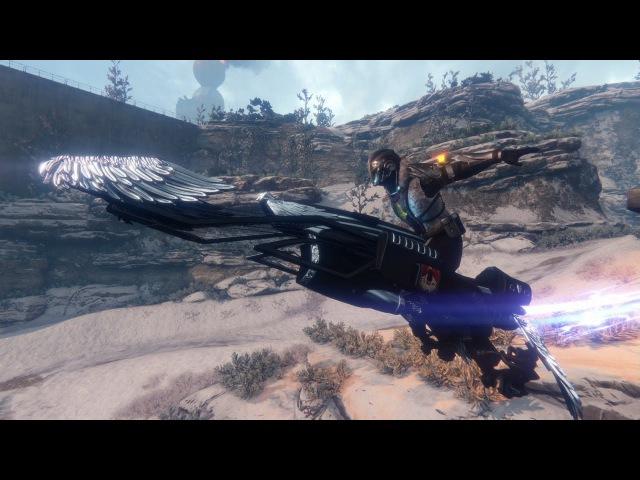 Official Iron Gjallarwing Sparrow Destiny: Rise of Iron Pre-order Trailer
