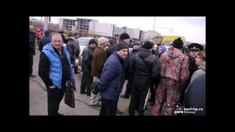 Двинувшихся на Москву дальнобойщиков из Дагестана остановили в Калмыкии
