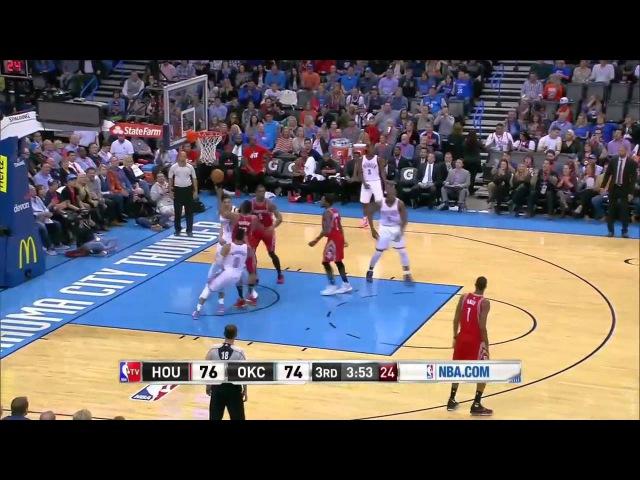 Houston Rockets vs Oklahoma City Thunder | January 29, 2016 | NBA 2015-16 Season