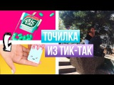 DIY Милая Точилка из  Тик-Така  BACK TO SCHOOL