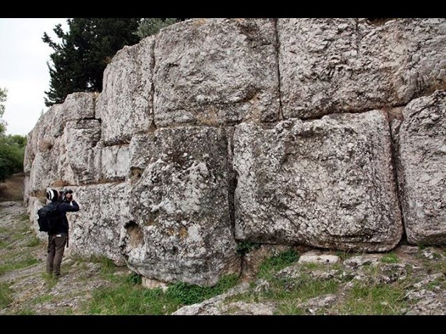 Megalithic Cyclopean walls Athens