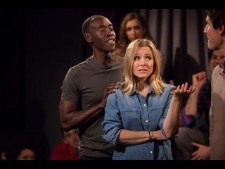 House of Lies Improv | Live with Kristen Bell, Don Cheadle, Ben Schwartz, Josh Lawson More
