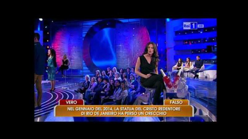 Dario Minelli su Rai Uno all'Eredita' con Carlo Conti | Puntata di Sabato 25 Aprile 2015