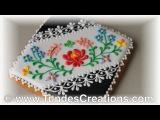 [vk.com/LakomkaVK] Hungarian folk art cookies, black 8.