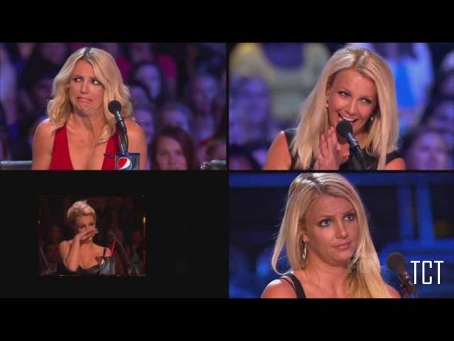 X Factor US 2012 - Britney's Best Faces, Quotes Moments