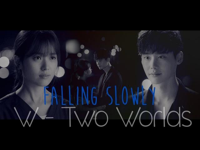 W - Two Worlds MV3 || Oh Yeon Joo Kang Cheol - Falling Slowly