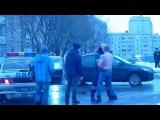 ДПС Вологда драка на фрязиновского 16.02.2016г.