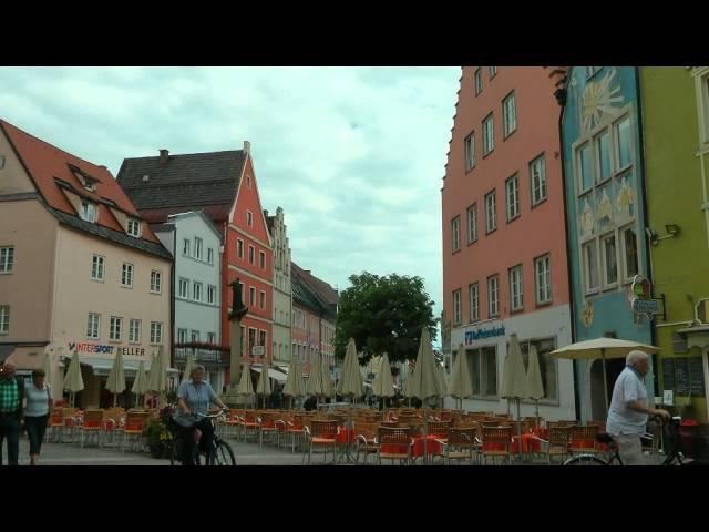GERMANY Füssen, Bavaria (hd-video)