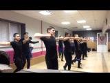 Взрослая мужская группа школы танцев легенды Кавказа