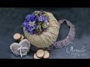 Флористика интерьрная Композиция Мастер класс Floral tutorial Flowers