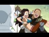124 серия Fairy Tail Хвост Феи Прикол по аниме Озвучка Anсord (Анкорд