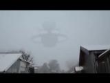 Неопознанный мир Гигантское НЛО в Москве, Россия 15 января 2
