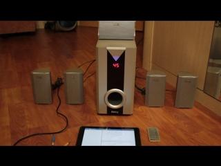 Активная шестикомпонентная акустическая система 5.1 Dialog (J-101A)