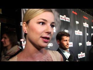 Captain America Civil War Paris Premiere Interview - Emily VanCamp