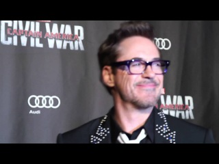 CAPTAIN AMERICA CIVIL WAR Paris Premiere Photocall - Robert Downey Jr, Emily VanCamp, Don Cheadle