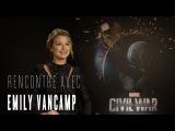 Emily VanCamp : Captain America, Love Story et Black Widow... Interview