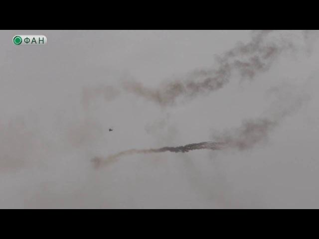 Ми-28Н «Ночной охотник» устроил бегущим боевикам ИГ огненный ад