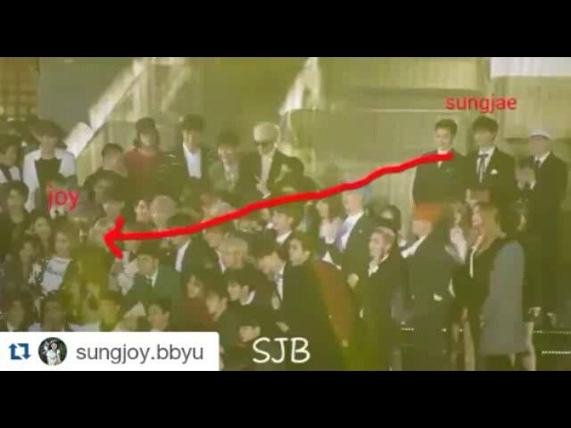 """💑 쀼 Couple 💑 on Instagram: """"Repost @sungjoy.bbyu with @repostapp ・・・ 160114 sungjoy moment SMA Link m.youtube.com/watch?v=53dkvE0knLA ( check Profile )…"""""""