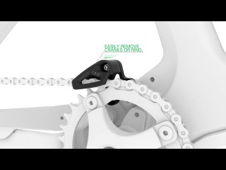 OneUp Components Low Direct Mount (S3 / E-Type) Chain Guide
