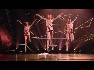 Танцы: Настя Вядро, Юля Николаева и Елена Платонова (Мария Чайковская – Нитью) (сезон 2, серия 19)