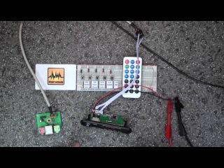 #002 Встраиваемая Mp3 магнитола с Bluetooth (Decode Board Module Radio Audio) ZTV-M011BT
