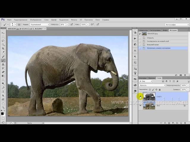 Использование каналов для улучшения фото Как повысить контрастность и детализацию изображения