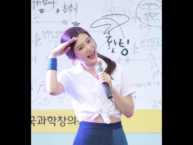 160806 레드벨벳 (RED VELVET) 조이 (JOY) 'Somethin Kinda Crazy' @대한민국과학창의축전 KPOP FANCAM 직캠 by TaeEon