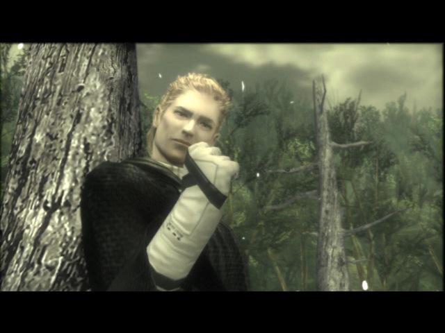Metal Gear Solid 3: Snake Eater HD Cutscenes - The Boss Final Battle