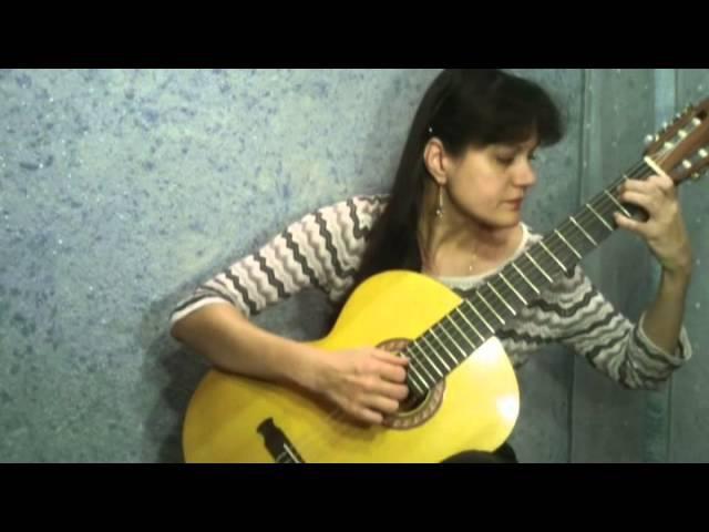 Цыганская песня пляска Две гитары Переложение для гитары В Колосова