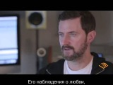 Интервью Ричарда Армитиджа к аудиокниге Дэвид Копперфильд (с русскими субтитрами)