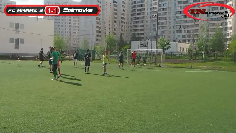 33 тур. FC KAMAZ 3 - Smirnovka