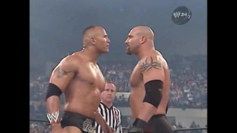 Wrestling Online: 9.The Rock vs Goldberg (WWE Backlash 2003)