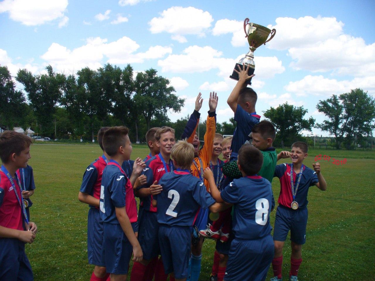 Таганрогская детская футбольная команда победила на финале Кубка Ростовской области