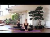 Растяжка для начинающих. Раскрытие тазобедренных суставов ⁄ Stretching for Beginners[1]