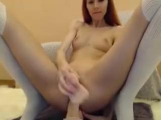 Mslily deep anal huge dildo
