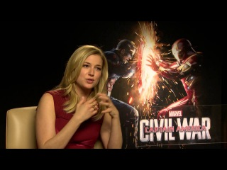 Emily VanCamp talks Captain America: Civil War