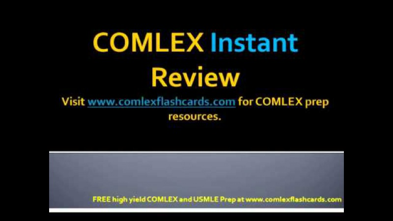 COMLEX USMLE Board Review Lectures Meningitis Must Knows