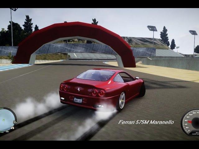 GTA 4 MOD Ferrari 575M Maranello 2002 Drive