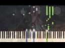[Sword Art Online] OP 1 crossing field Piano Synthesia Tutorial